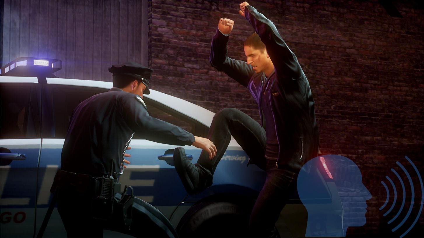 NFS Run Polis Sahnesinden Bir Kesit