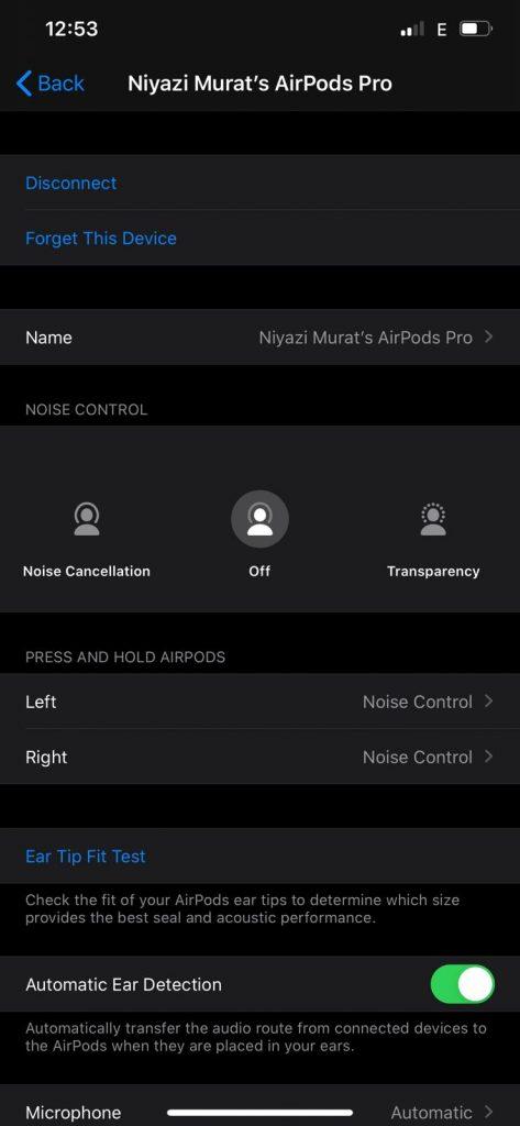 AirPods Pro iPhone Bağlamak