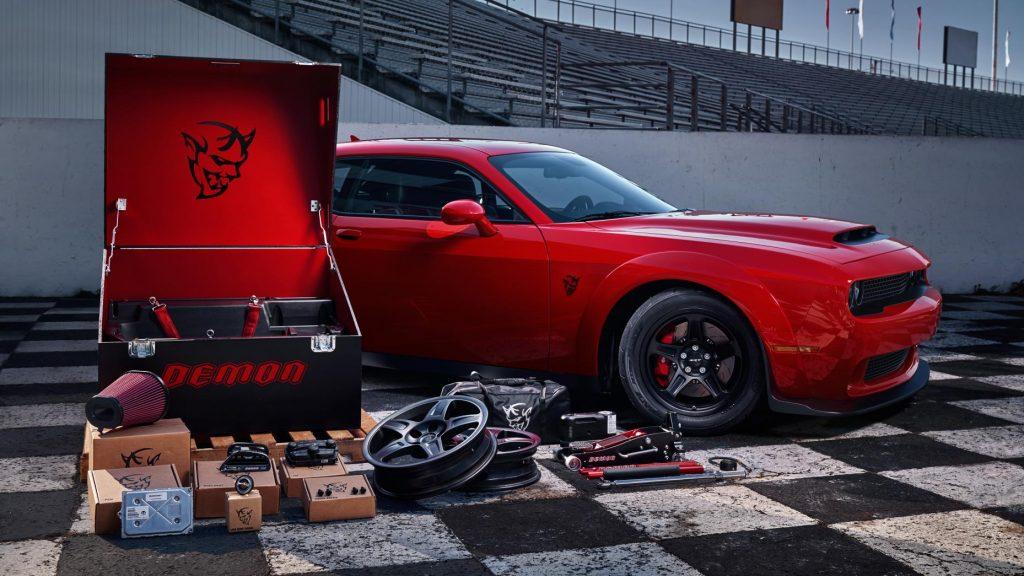 Dodge demon kutu