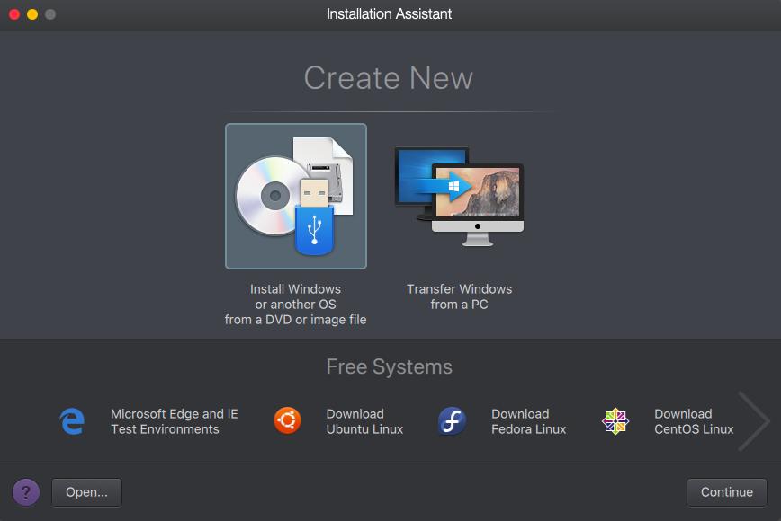 parallels desktop mac os x