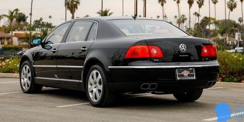 Volkswagen Phaeton tasarımı