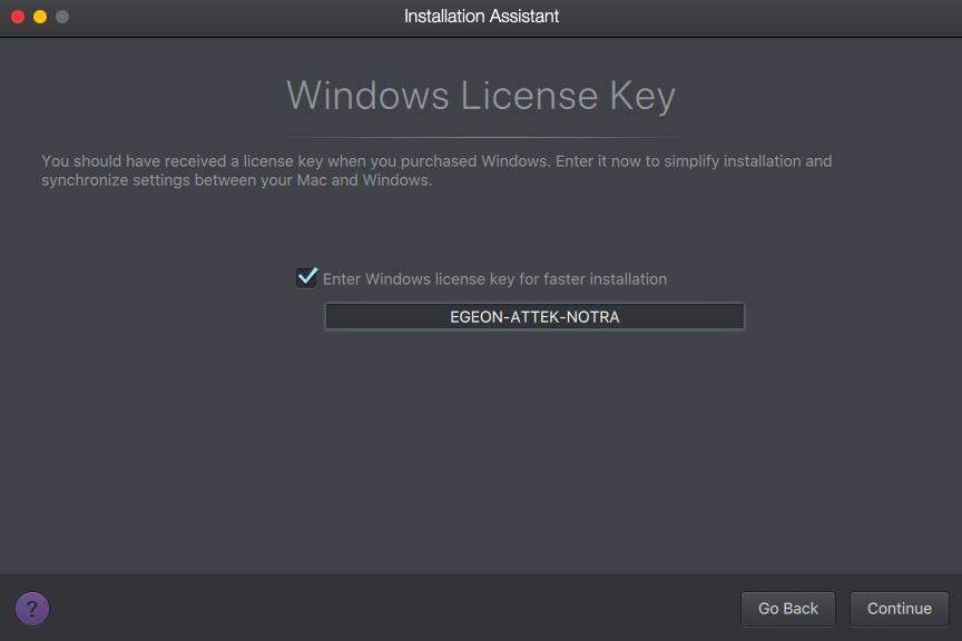 windows lisans anahtarı