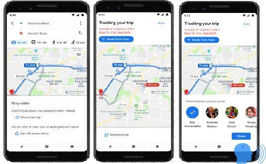 android navigasyon uygulamaları