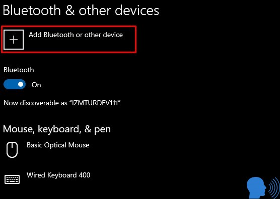 Windows bluetooth açmak