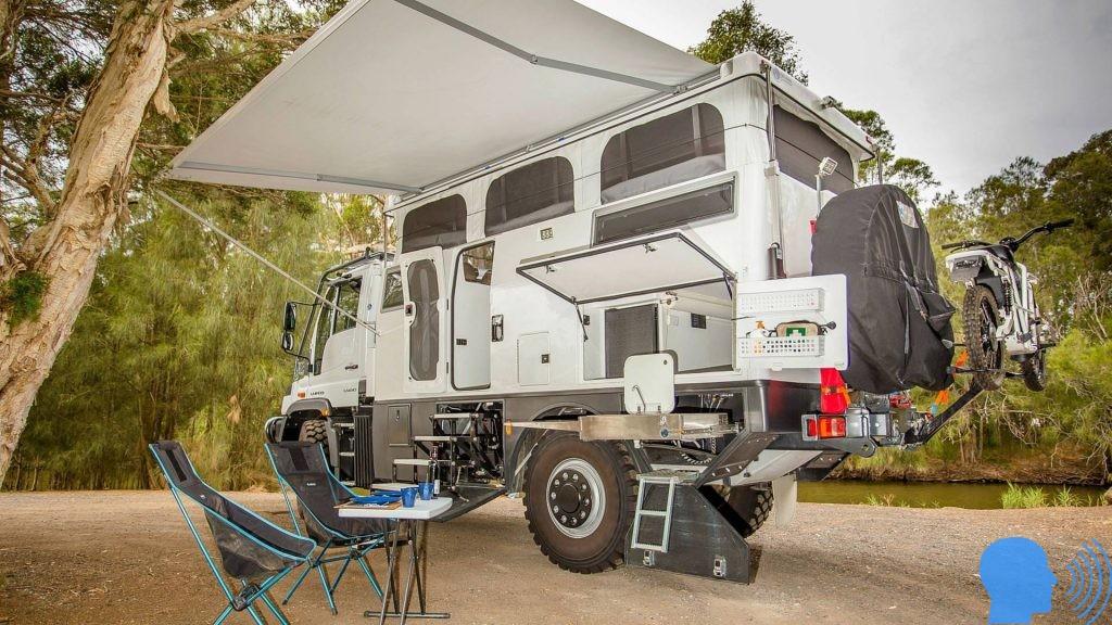 mercedes unimog karavan