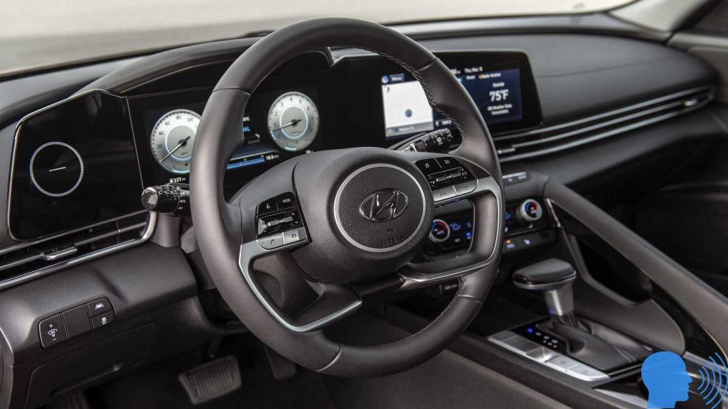 2021 Hyundai Elantra iç tasarımı
