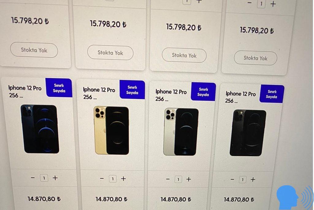 iphone 12 fiyatı