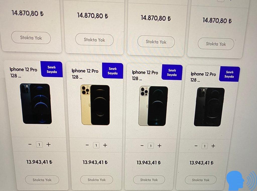 iphone 12 fiyatı türkiye