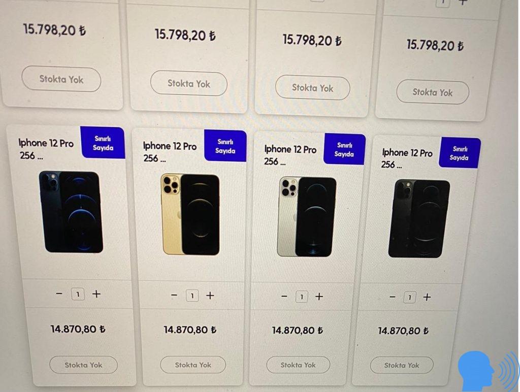iphone 12 ne kadar