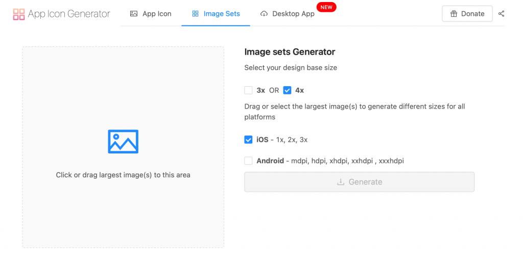 AppIcon iOS asset oluşturmak