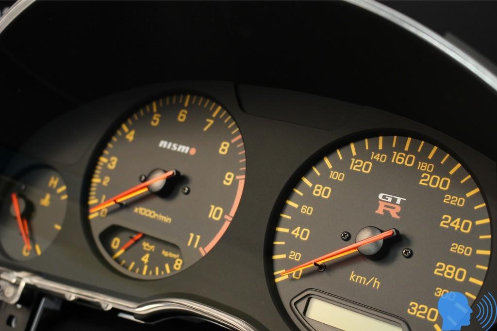 Nissan Skyline GT-R34 devir saati