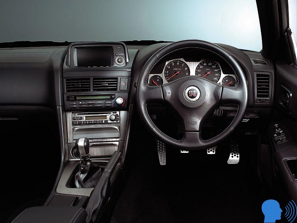 Nissan Skyline GT-R34 iç tasarımı